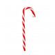 Candy cane appeso rosso-bianco 14 cm
